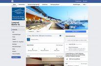 Facebook Page für Lamprell Marine in Port Adriano